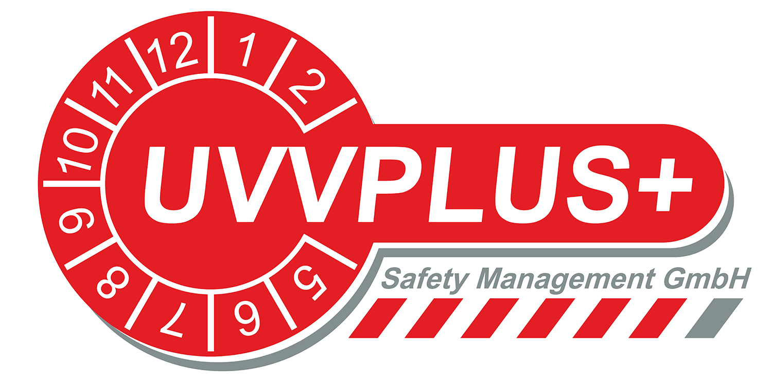 UVVPlus Safety Management GmbH Logo Heilbronn
